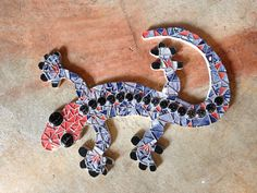 Gecko - mosaic