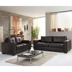 univers décoration salon avec canapé noir   Idées pour la maison ...