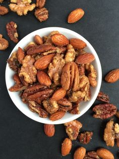 Indian Spiced Mixed Nuts - The Lemon Bowl