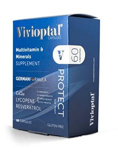 Vivioptal Protect for Men 60 capsules *** Find out more about the great product at the image link. (This is an affiliate link) #HeartNutrition