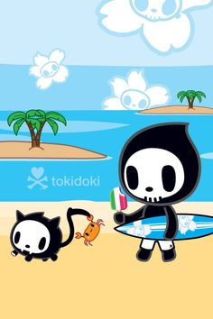 dreaming to be in paradise decked out with tokidoki!!! #tokidokixsummerdream