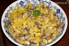 Bramborový salát se slanečky - Recept Thing 1, Potato Salad, Salads, Potatoes, Meat, Chicken, Ethnic Recipes, Food, Potato