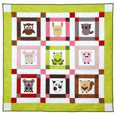 How Owl You? Create a kid-approved quilt with the @AccuQuilt GO! Owl die.