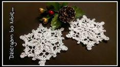 Crochet Stars, Crochet Snowflakes, Crochet Motif Patterns, Crochet Stitches, Tatting, Crochet Earrings, Christmas Decorations, Holiday, Flowers