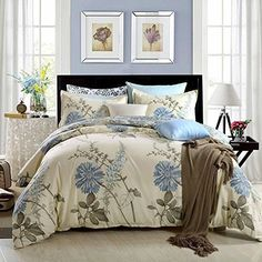 Bed Cover Set King Size 3 Piece Duvet Cover Pillow Sham  | Home & Garden, Bedding, Duvet Covers & Sets | eBay!