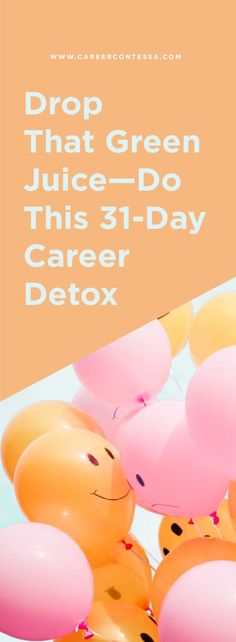 This is a detox anyone can do. It requires very little from you beyond spending a few minutes a day on whatever simple action item we've listed that day. Job Career, Career Success, Career Advice, Hate My Job, Get The Job, Hating Your Job, Finding A New Job, Phone Interviews, Career Inspiration