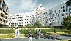 Pokračovanie developerského projektu na okraji Petržalky. Navrhli sme unikátny typologick hybridný koncept terasovo-vežovo-pavlačovo-sekciových domov svýhľadmi na slnečné strany. Štyri polouzavreté bloky pôdorysne organicky nadväzujú na zónu mesto, no jemným akcentovaním formy sú jasne rozoznateľné. Nadväzujú na vznikajúcu uličnú čiaru Panónskej ulice kompaktnou zástavbou. Hmoty sa otáčajú (svojím sexi) chrbtom do rušnej ulice pavlačovým bytovým domom, vytvárajú akýsi barierový dom a…