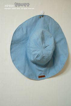[공유] 챙이 넓은 바캉스 모자 만드는 방법/ 모자 패턴도안♪ (과정샷) : 네이버 블로그
