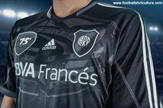 River Plate 2013 Estadio Monumental 75th Anniversary Adidas Football Shirt