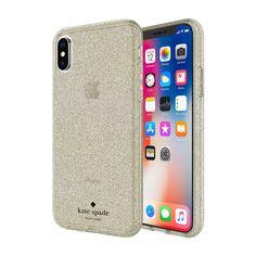 b7234ac60bb6 Apple iPhone X Incipio Kate Spade New York Flexible Glitter Case - Gold
