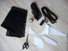 Мастер-класс: кружевное бюстье своими руками - Ярмарка Мастеров - ручная работа, handmade