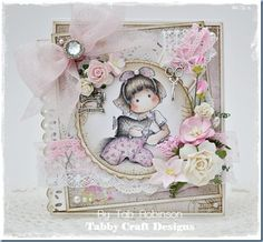 Tailor Tilda, Turning Leaves Collection, Magnolia stamps
