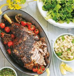 Lamb, Gravy and Roast leg of lamb on Pinterest