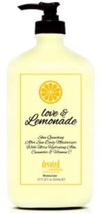 Love and Lemonade #Tan fights with #skin #inflammation, #red #tones and keeps your #skin #hydrated. http://bit.ly/2ezFC6t