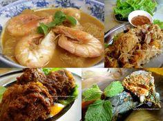 Peranakan cuisine , Ivy nonya restaurant in Penang.
