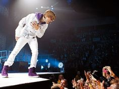 Aww it's his my world outfit! #NeverSayNever