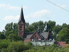 Barcin, Poland. The church.
