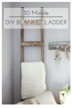 30 Minute DIY Blanke