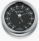 Barometer PILOT III stainless steel polished