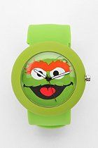 Sesame Street Slap Watch  #UrbanOutfitters I like the cookie monster one