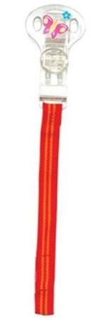 Nuby Nuby, Клипса-держатель для соски-пустышки (оранжевая)  — 345р.