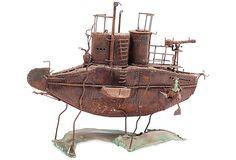 Submarine Sculpture