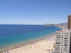Piso en primera linea de playa de Benidorm con vistas espectaculares - ESPAÑA - QUICK Anuncio Beach, Water, Outdoor, Shopping, Chalets, Apartments, Gripe Water, Outdoors, The Beach