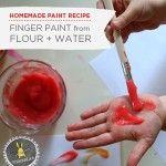 Paint Recipe for Kids |Homemade Finger Paint