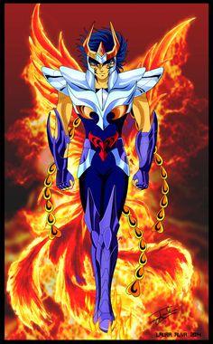 Ikki Fenix Anime Comics, Batman Comics, Manga Anime, Anime Art, Knights Of The Zodiac, D Mark, Naruto Vs Sasuke, Batman Wallpaper, Manga Games