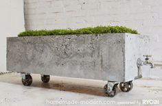 Home Maden Modernista löytyy ohjeet tähän puutarhan sulostuttajaan.