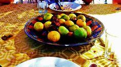 Moroccan fresh fruit