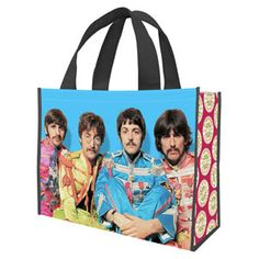 Vandor 99073 Star Wars A new Hope Large Recycled Shopper Tote, Multicolor - The Beatles Fab Four Beatles Gifts, Beatles Sgt Pepper, Vera Bradley Tote, Lonely Heart, A New Hope, Nylon Bag, Shopper Tote, Zip Wallet, Leather Handle