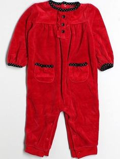 Girls Size 18 Mo Just One Year By Carter's Long Sleeve One Piece Outfit - thredUP $2.99