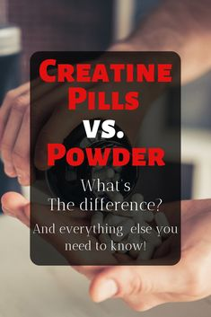 Learn everything you need to know about creatine pills and powder! via @Olympic_Muscle