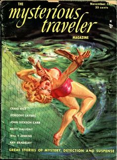 Mysterious Traveler Issue #1 May 1951