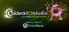 Y también estamos en WordPress con un blog sobre diseño de juguetes y escultura http://calderontoystudio.wordpress.com/