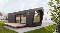 Modern Tiny House, Tiny House Design, 3d Printed House, Prefab, Cozy House, 3d Printing, Shed, Home And Garden, Outdoor Structures