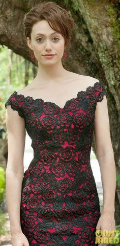 Party Dresses/ Vestido de festa/ Abiti da sera #crochet #uncinetto #emmyrossum                                                                                                                                                     Mais