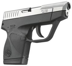 "All Threat Tactical | Taurus Model 738 TCP 380 ACP 2.75"" 6+1 Polymer Grip Stainless Finish"