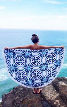 raquikè Corfu waters towel