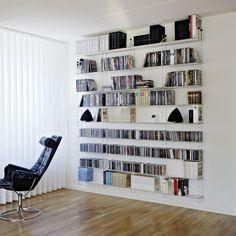 bokhylla vägg - Google Search