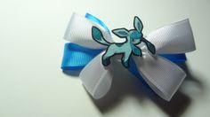 Glaceon Hair Bow by spinaltapcola on Etsy, $8.00