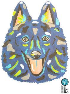"""Schipperke DIY Paint Your Own """"Pop Art"""" Pet Kit"""