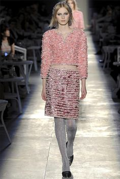 "Paris Haute Couture Fashion Week: Chanel fall 2012 ""New Vintage"""