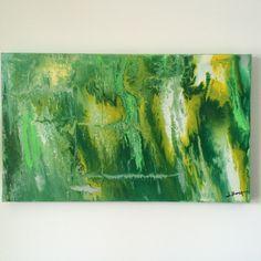 """Phantasie I"", Acryl auf Leinwand (100x60), Gesindehaus 4"