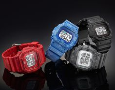 "Casio G-Shock ""G-Ride"" Series"