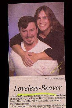 Leno Headlines... Wedding Announcements Wedding Name, Haha Funny, Funny Stuff, Loveless, Celebrity Names, Funny Animal Memes, Wedding Announcements, Famous Celebrities, E Cards