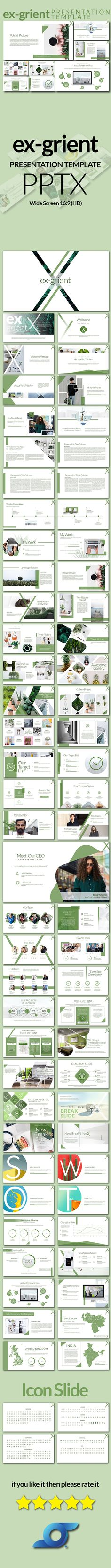 Ex-Grient Minimal Presentation - #PowerPoint Templates #Presentation Templates Download here: https://graphicriver.net/item/exgrient-minimal-presentation/19711255?ref=alena994