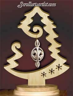 Scroll Saw Patterns :: Holidays :: Christmas :: Trees :: Ornament tree #6 -                                                                                                                                                                                 More