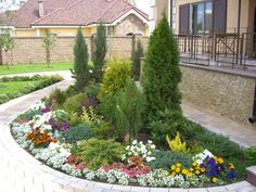 Beautiful frontyard design